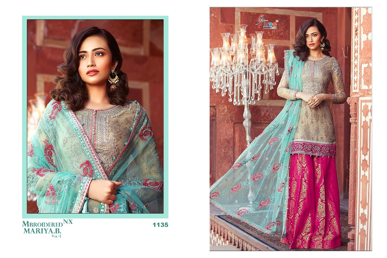 596e9dc008 IMG 20180529 WA0262 1024x682 - Shree fabs mbroidered Maria b vol 4 Pakistani  Salwar suit