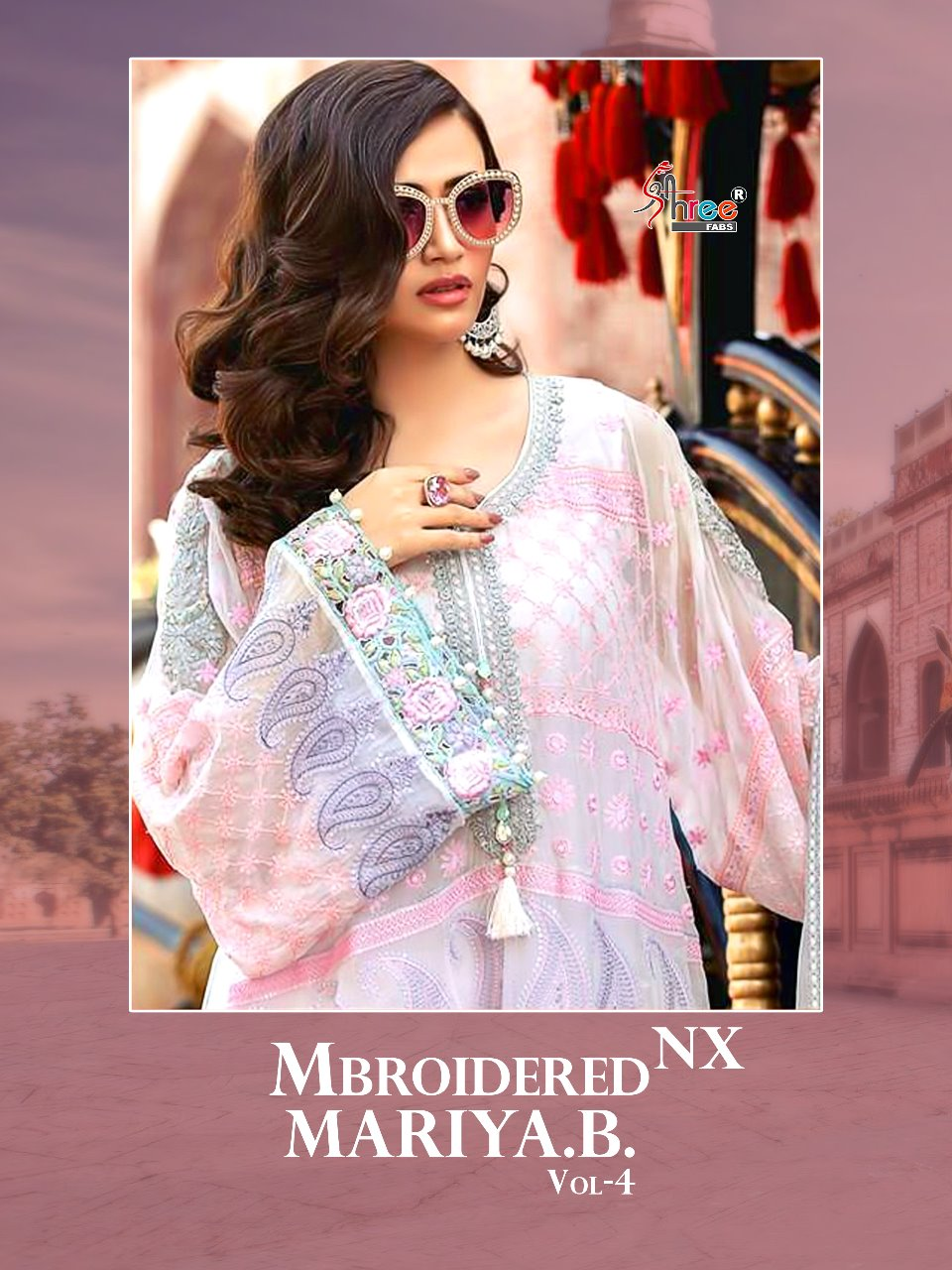 a2e1ac19ce IMG 20180529 WA0263 1 768x1024 - Shree fabs mbroidered Maria b vol 4 Pakistani  Salwar
