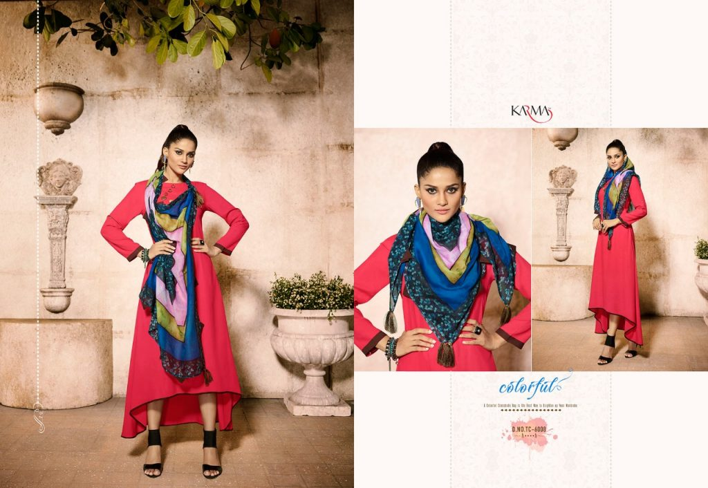 - IMG 20180620 WA0107 1024x706 - Karma trends tucute vol 6 Designer gown style kurtis with cotton stole catalog in wholesale price  - IMG 20180620 WA0107 1024x706 - Karma trends tucute vol 6 Designer gown style kurtis with cotton stole catalog in wholesale price