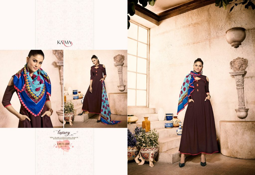 - IMG 20180620 WA0109 1024x706 - Karma trends tucute vol 6 Designer gown style kurtis with cotton stole catalog in wholesale price  - IMG 20180620 WA0109 1024x706 - Karma trends tucute vol 6 Designer gown style kurtis with cotton stole catalog in wholesale price