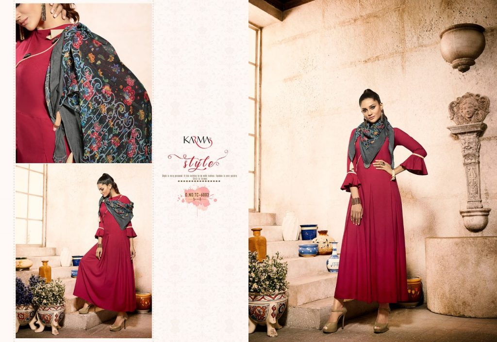 - IMG 20180620 WA0110 1024x706 - Karma trends tucute vol 6 Designer gown style kurtis with cotton stole catalog in wholesale price  - IMG 20180620 WA0110 1024x706 - Karma trends tucute vol 6 Designer gown style kurtis with cotton stole catalog in wholesale price
