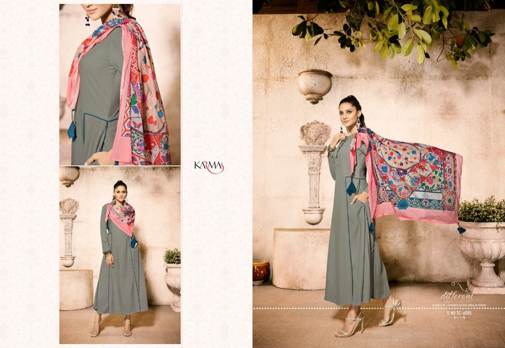 - IMG 20180620 WA0114 1024x706 - Karma trends tucute vol 6 Designer gown style kurtis with cotton stole catalog in wholesale price  - IMG 20180620 WA0114 1024x706 - Karma trends tucute vol 6 Designer gown style kurtis with cotton stole catalog in wholesale price