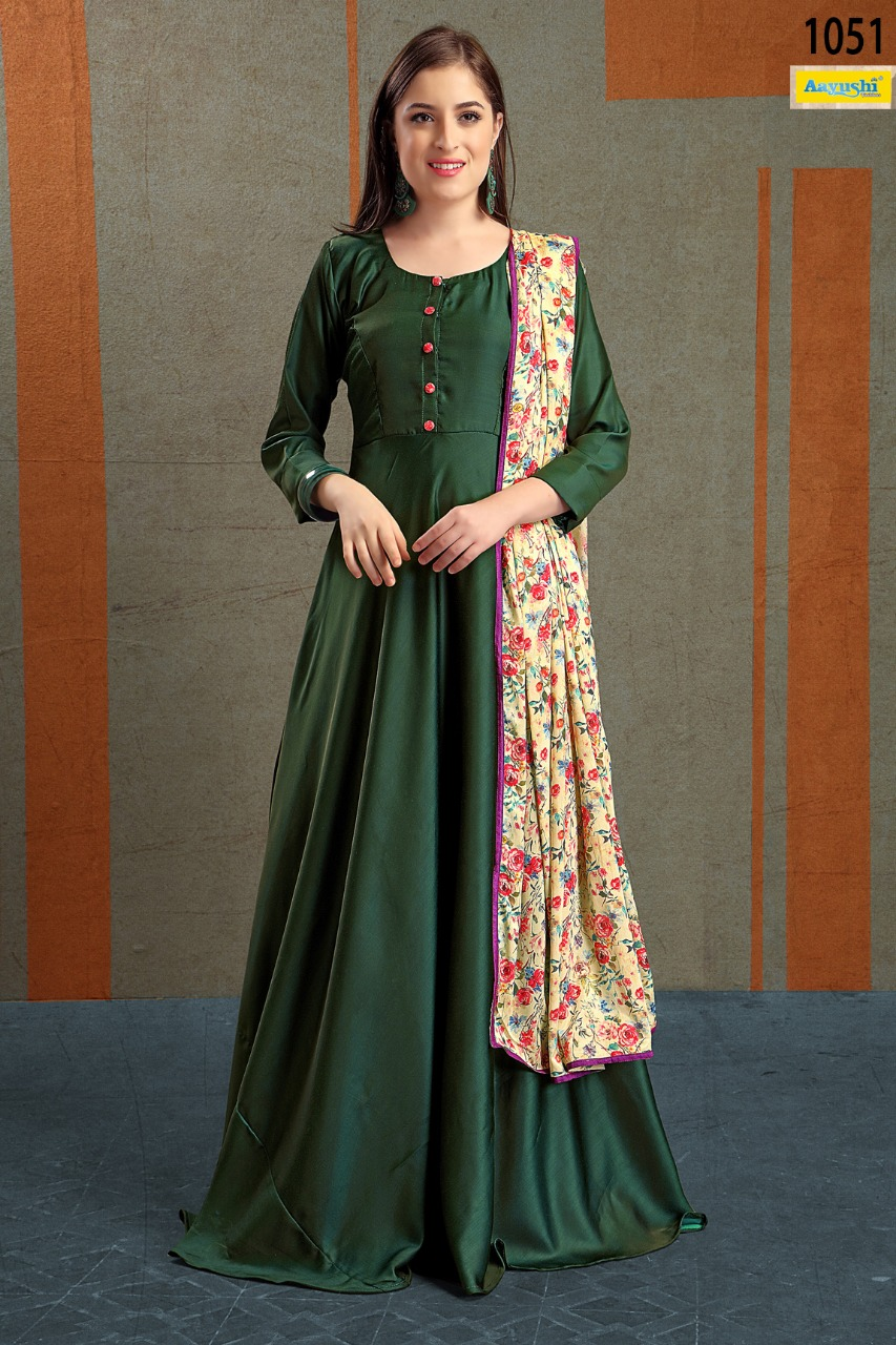 Aayushi fashion presents fashionista Party wear dress buy from surat supplier at best price
