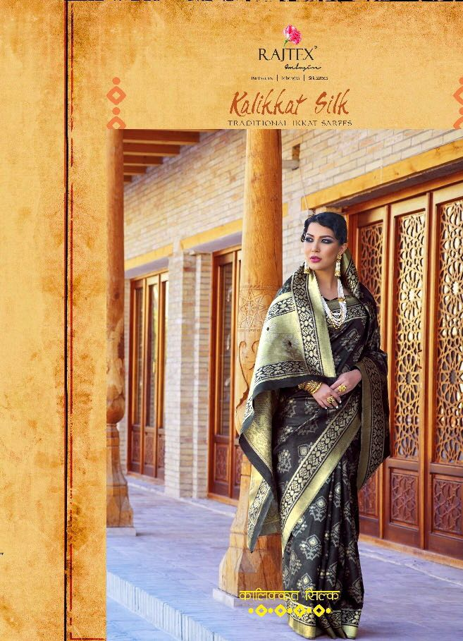 - IMG 20180726 WA0217 - Rajtex kalikkat silk party wear saree catalogue from surat wholesaler  - IMG 20180726 WA0217 - Rajtex kalikkat silk party wear saree catalogue from surat wholesaler