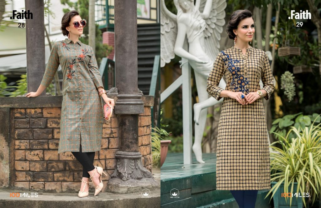 salwar kameez online - IMG 20180731 WA0002 1024x666 - 100 miles faith vol 5 embroidered cotton kurti catalogue from surat wholesaler