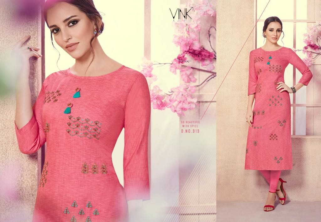 - IMG 20180803 WA0003 1024x709 - Vista lifestyle Venice by vink embroidered kurti catalogue from surat wholesaler