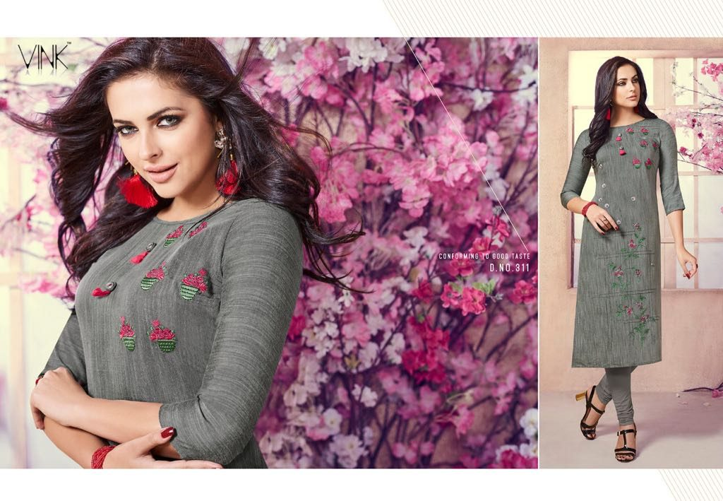 - IMG 20180803 WA0004 1024x709 - Vista lifestyle Venice by vink embroidered kurti catalogue from surat wholesaler