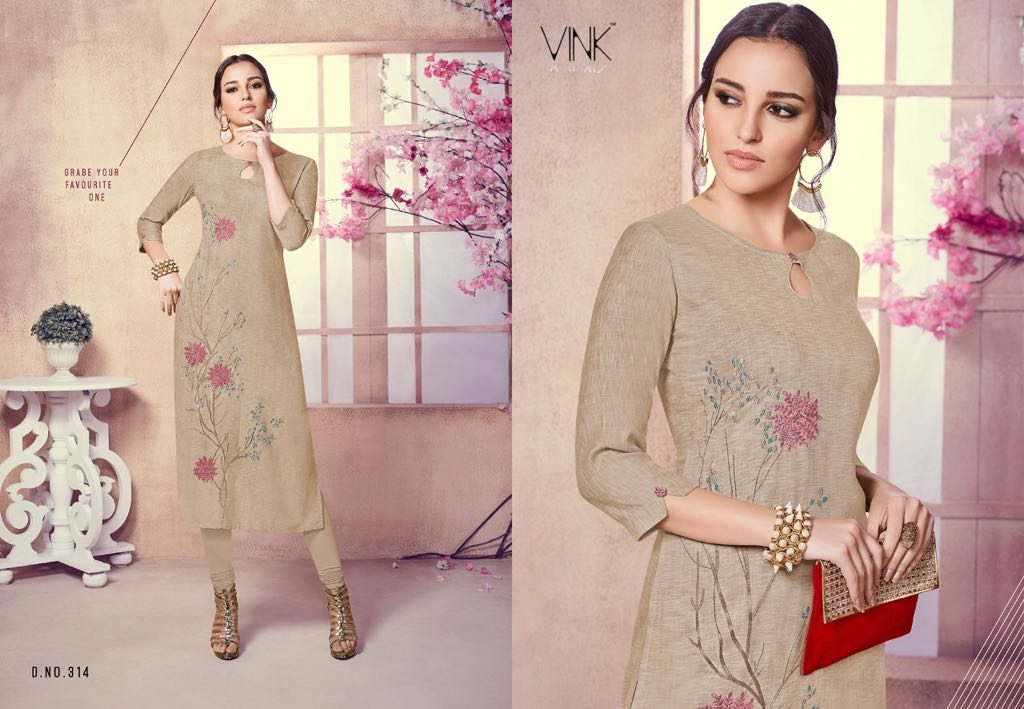 - IMG 20180803 WA0009 1024x709 - Vista lifestyle Venice by vink embroidered kurti catalogue from surat wholesaler