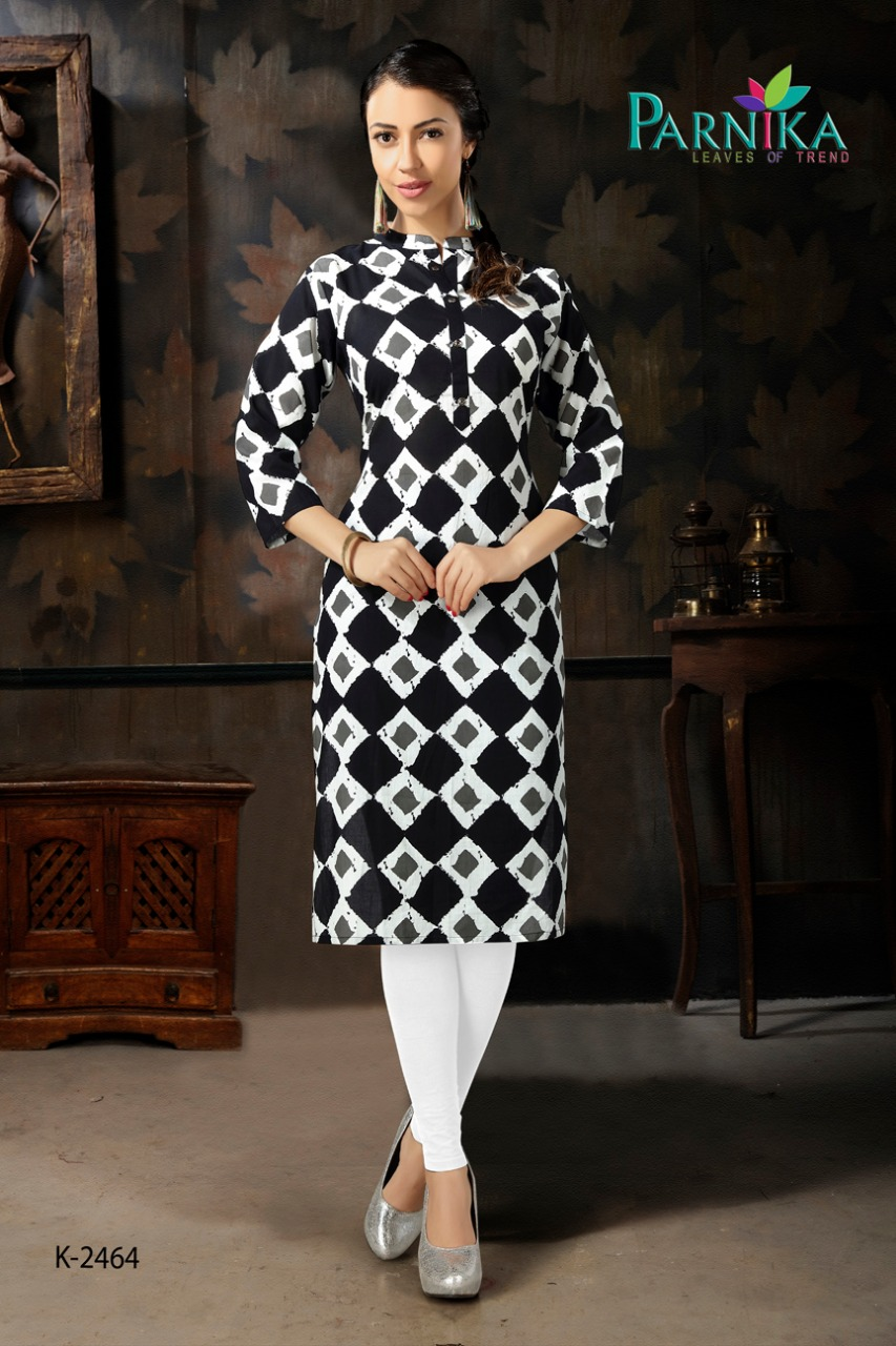 Parvati fabrics roshani kurti catalogue from surat Wholesaler