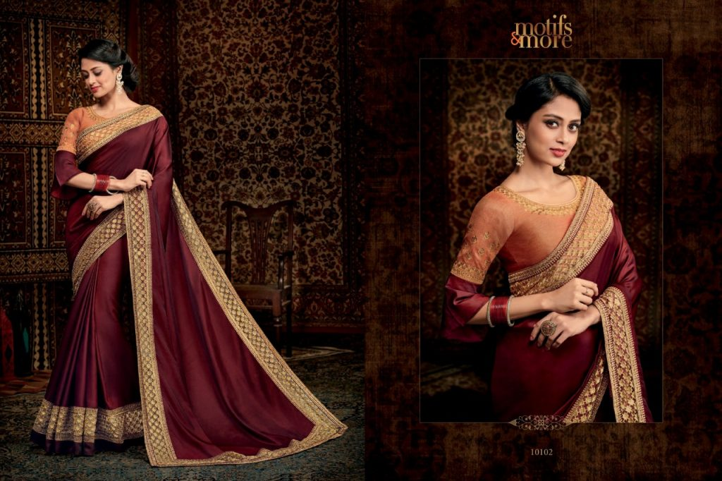 - IMG 20180904 WA0086 1024x682 - Motifs & More Vol 1 designer party wear exclusive saree catalogue in wholesale price  - IMG 20180904 WA0086 1024x682 - Motifs & More Vol 1 designer party wear exclusive saree catalogue in wholesale price