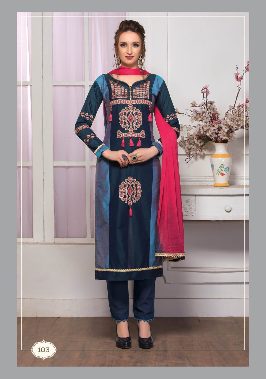 CK fashion Gloria Straight salwar suit catalogue in wholesale price surat