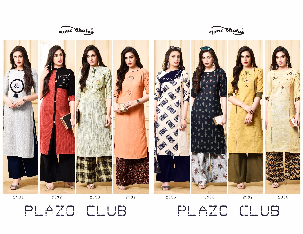 7cfb6d414e IMG 20180908 WA0011 1024x791 - Your choice plazo clube Plazzo set with kurti  catalogue in