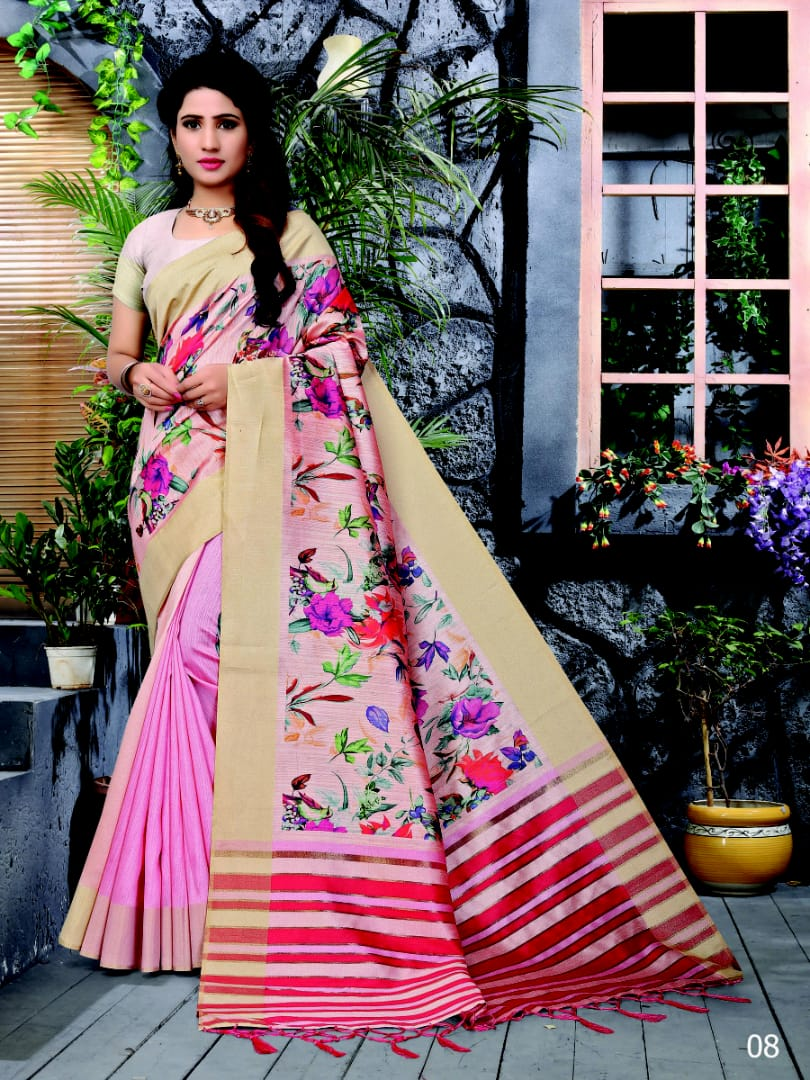 Balkrishna saree catalogue from surat wholesaler