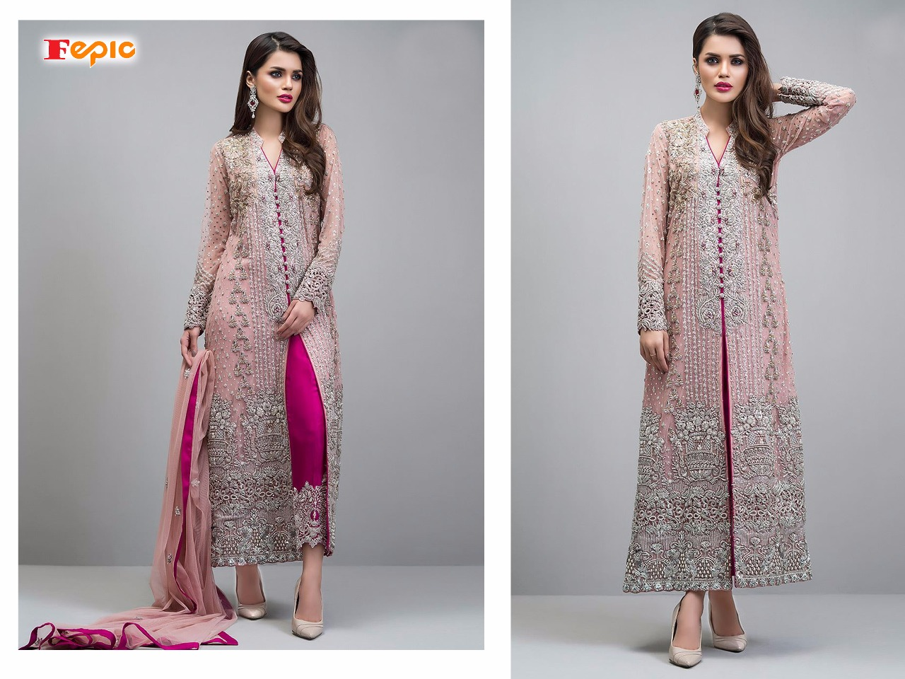 Fepic sanober NX Pakistani salwaar suit Catalogue from surat wholesaler