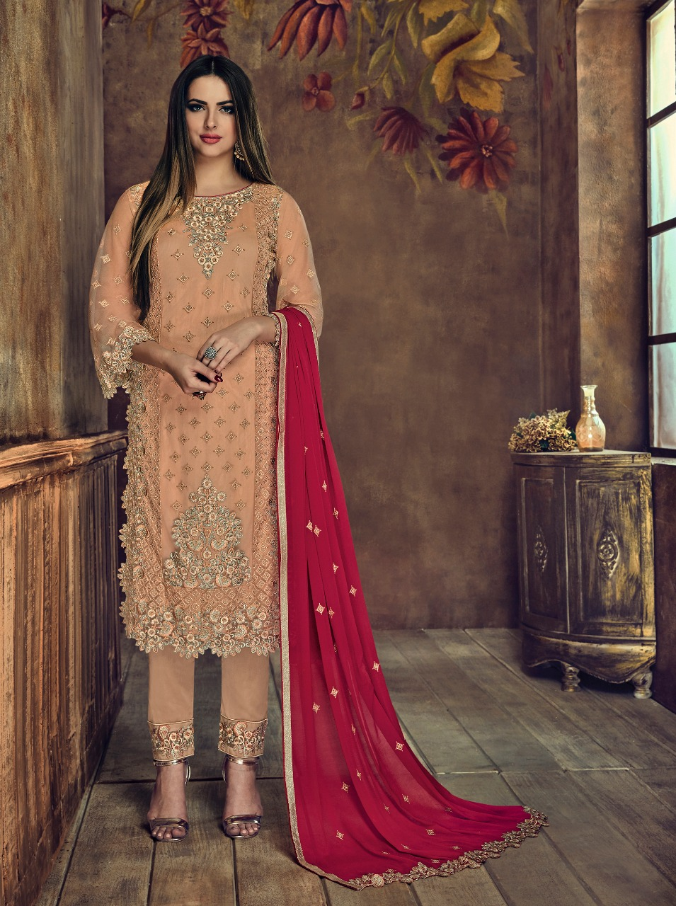 Sybella royal elite party wear salwaar suit Catalogue from surat wholesaler
