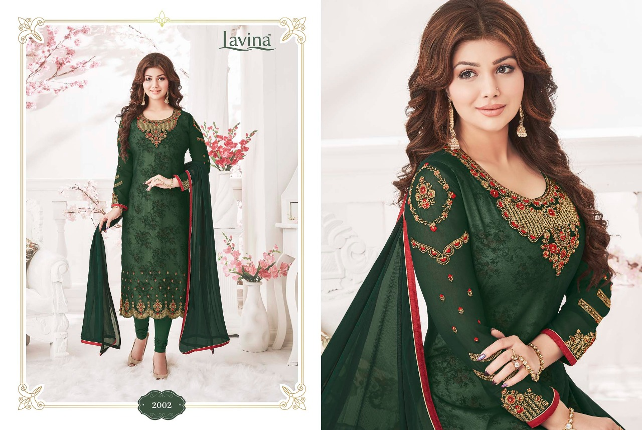 Lavina nx vol 2 party wear embroidered salwar suit Catalog at best price surat