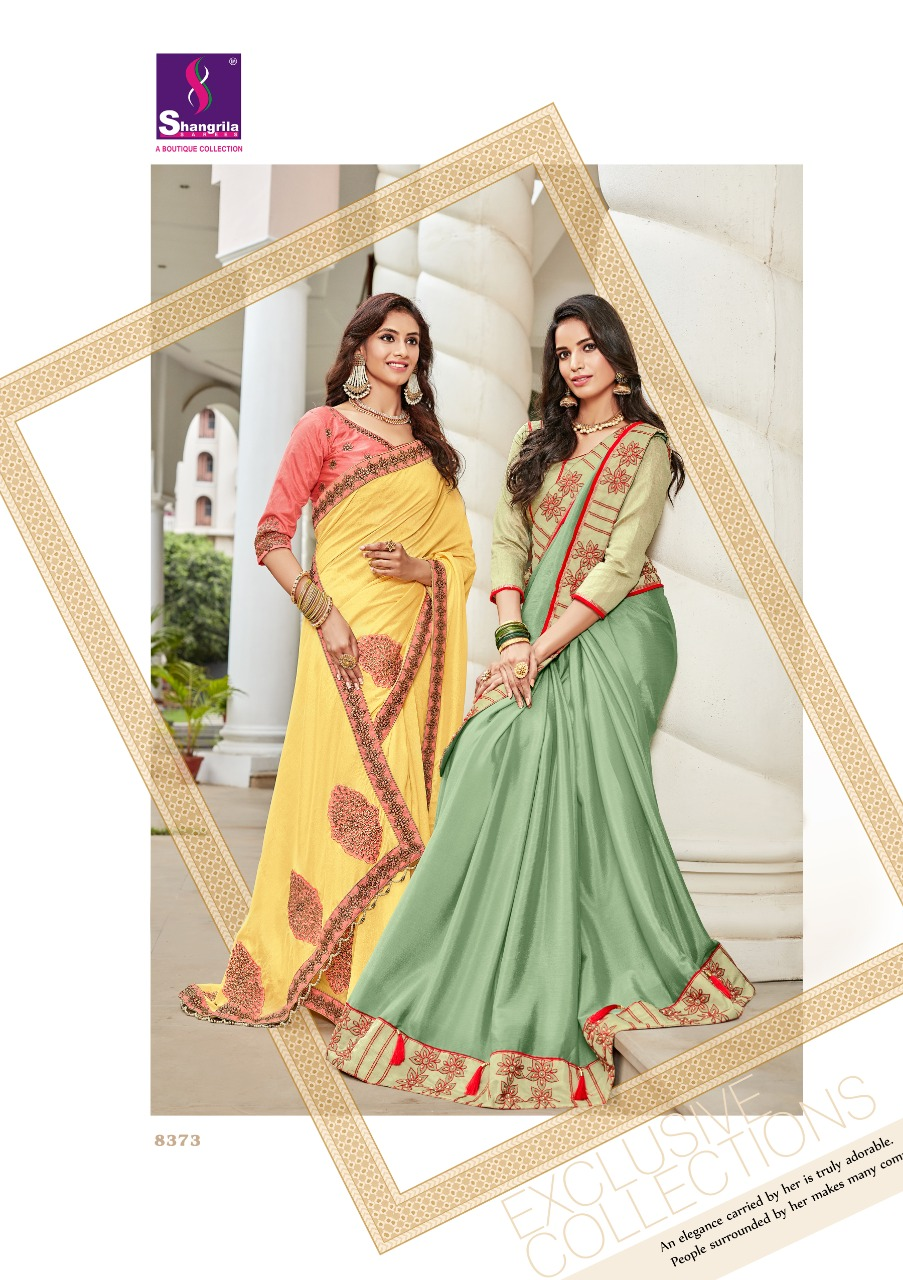 3bad3a5c2e IMG 20181004 WA0196 722x1024 - Shangrila belizia exclusice kolkata style  saree Catalogue from surat wholesaler