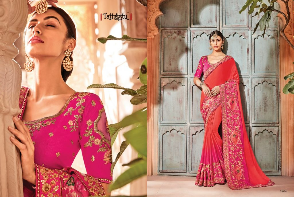 - IMG 20181009 WA0083 1024x686 - Tathastu 1900 series designer Party wear saree Catalog at best price surat  - IMG 20181009 WA0083 1024x686 - Tathastu 1900 series designer Party wear saree Catalog at best price surat