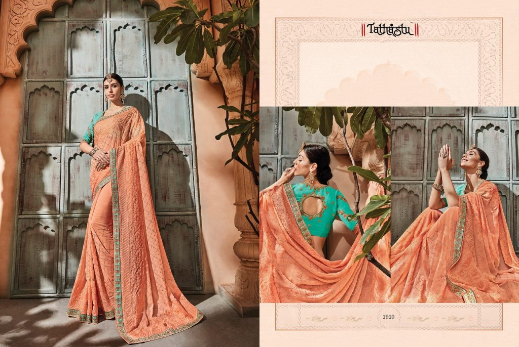- IMG 20181009 WA0087 1024x686 - Tathastu 1900 series designer Party wear saree Catalog at best price surat  - IMG 20181009 WA0087 1024x686 - Tathastu 1900 series designer Party wear saree Catalog at best price surat