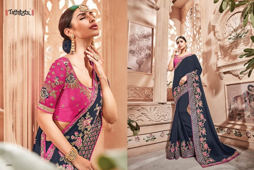 - IMG 20181009 WA0091 1024x686 - Tathastu 1900 series designer Party wear saree Catalog at best price surat  - IMG 20181009 WA0091 1024x686 - Tathastu 1900 series designer Party wear saree Catalog at best price surat