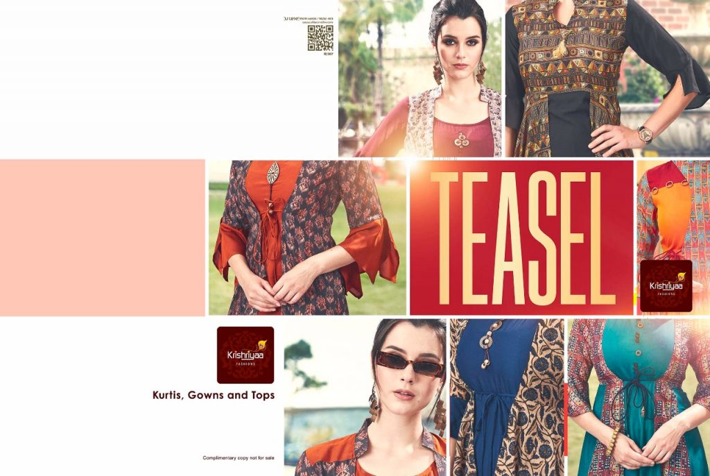 - IMG 20181011 WA0257 1024x686 - Krishriya taesel two toned silk kurti catalogue from surat wholesaler