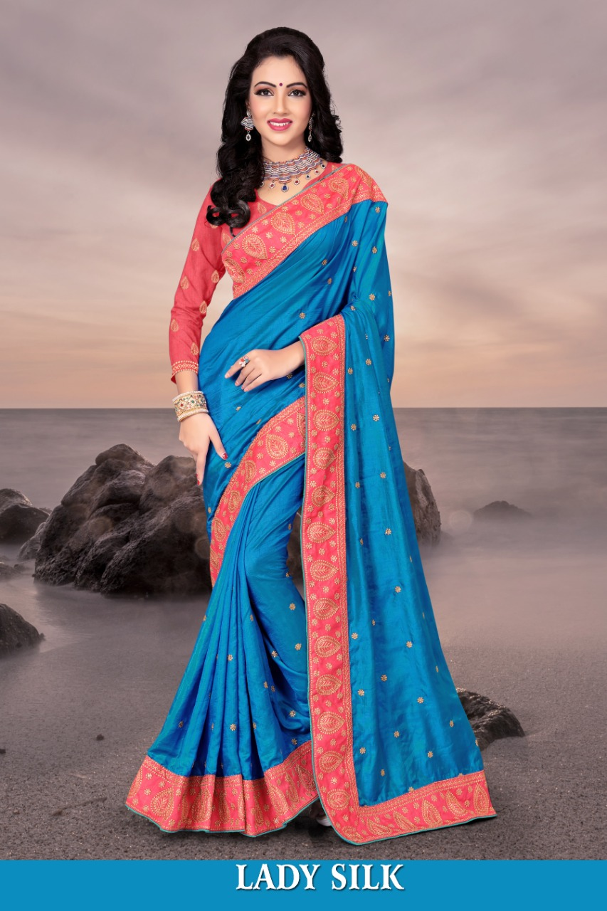 Right one lady silk saree catalogue from surat wholesaler