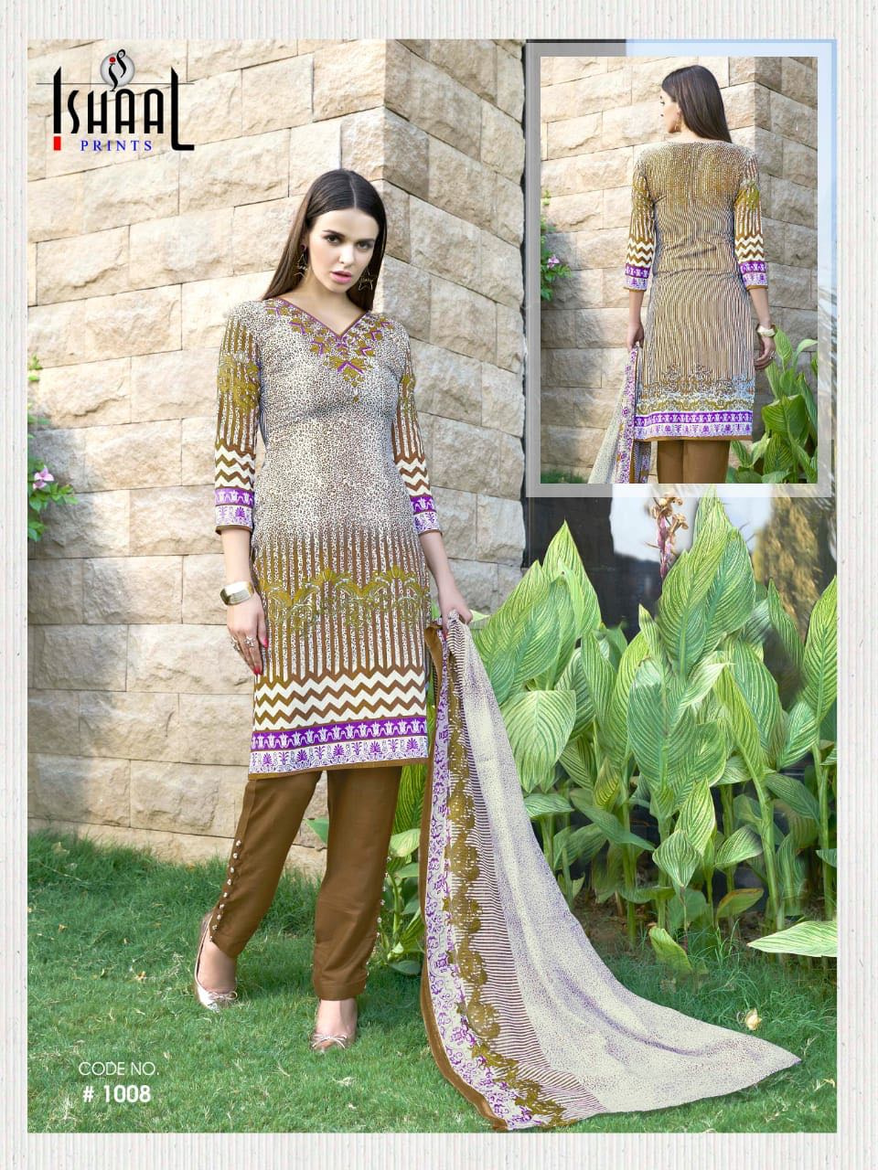 Ishaal prints gulmohar vol 3 printed Pakistani suit catalogue at best price surat