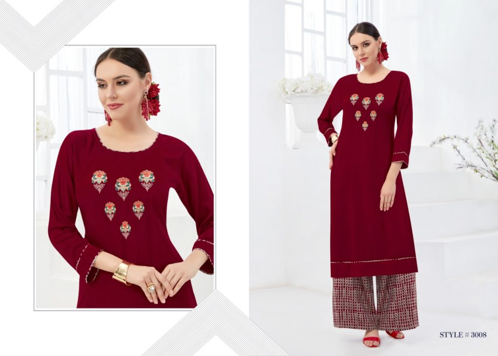 - IMG 20181017 WA0005 1 1024x731 - Rani baanvi palak embroiedered rayon kurti palazzo Set catalogue from surat wholesaler  - IMG 20181017 WA0005 1 1024x731 - Rani baanvi palak embroiedered rayon kurti palazzo Set catalogue from surat wholesaler