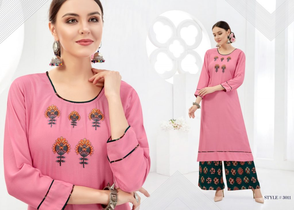 - IMG 20181017 WA0006 1 1024x731 - Rani baanvi palak embroiedered rayon kurti palazzo Set catalogue from surat wholesaler  - IMG 20181017 WA0006 1 1024x731 - Rani baanvi palak embroiedered rayon kurti palazzo Set catalogue from surat wholesaler