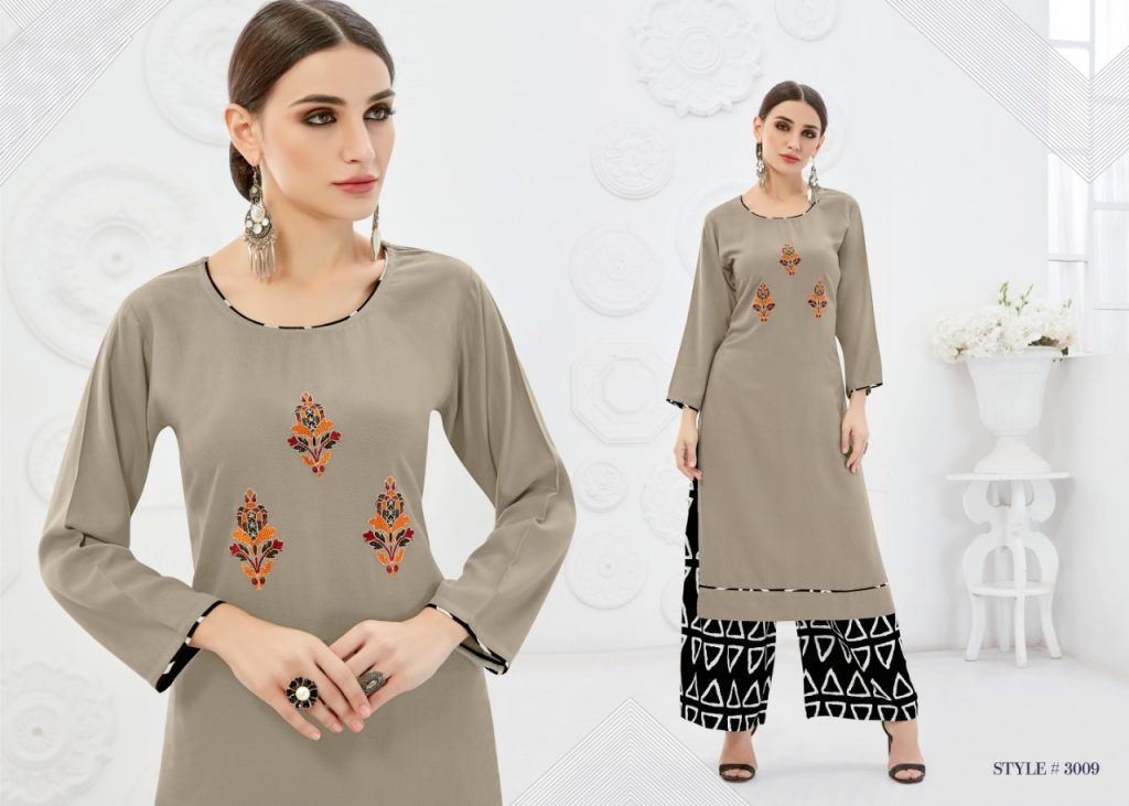- IMG 20181017 WA0009 1 1024x731 - Rani baanvi palak embroiedered rayon kurti palazzo Set catalogue from surat wholesaler  - IMG 20181017 WA0009 1 1024x731 - Rani baanvi palak embroiedered rayon kurti palazzo Set catalogue from surat wholesaler