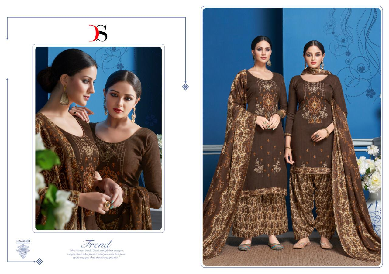 Deepsy Panjaban pashmina embroidered salwaar suit Catalogue best rate from surat supplier