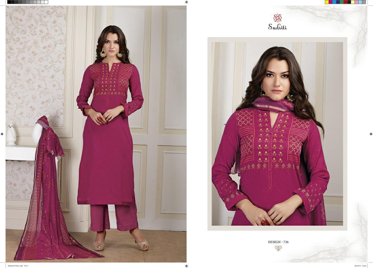 Sudriti by sahiba nausheen silk printed salwaar suit catalogue from surat wholesaler at best price surat sahiba