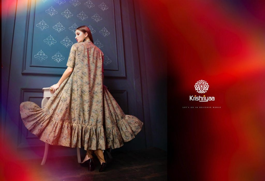 - IMG 20181128 WA0262 1024x702 - Krishriyaa majestic designer Fancy silk kurtis catalogue Wholesale supplier surat
