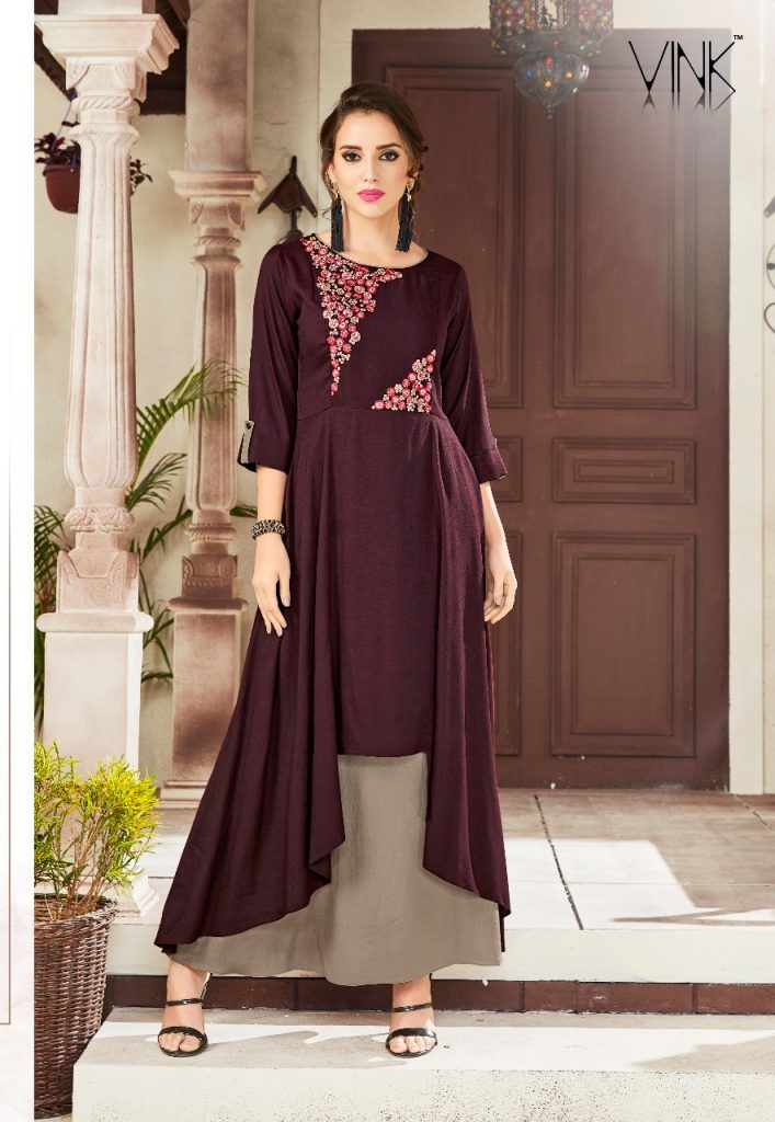 - IMG 20181204 WA0178 707x1024 - Vink by Vista Lifestyle crescent vol 2 designer long party wear kurtis catalogue at best Price wholesaler  - IMG 20181204 WA0178 707x1024 - Vink by Vista Lifestyle crescent vol 2 designer long party wear kurtis catalogue at best Price wholesaler