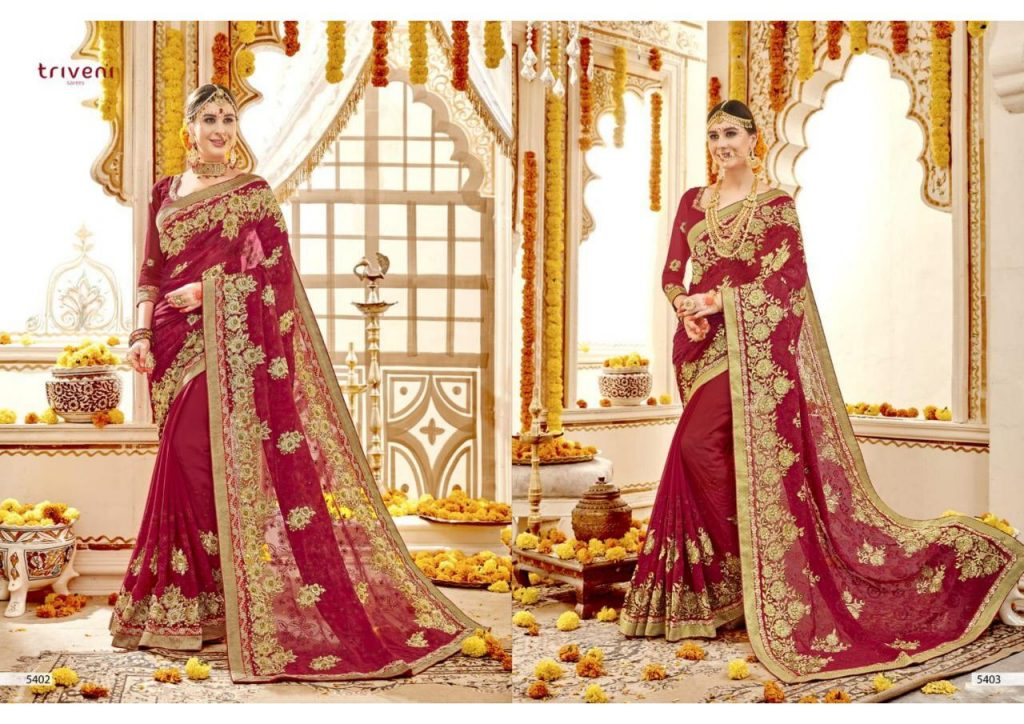 - IMG 20181207 WA0235 1024x724 - Triveni sarees ujjval designer red Bridal Saree catalogue in wholesale price surat  - IMG 20181207 WA0235 1024x724 - Triveni sarees ujjval designer red Bridal Saree catalogue in wholesale price surat