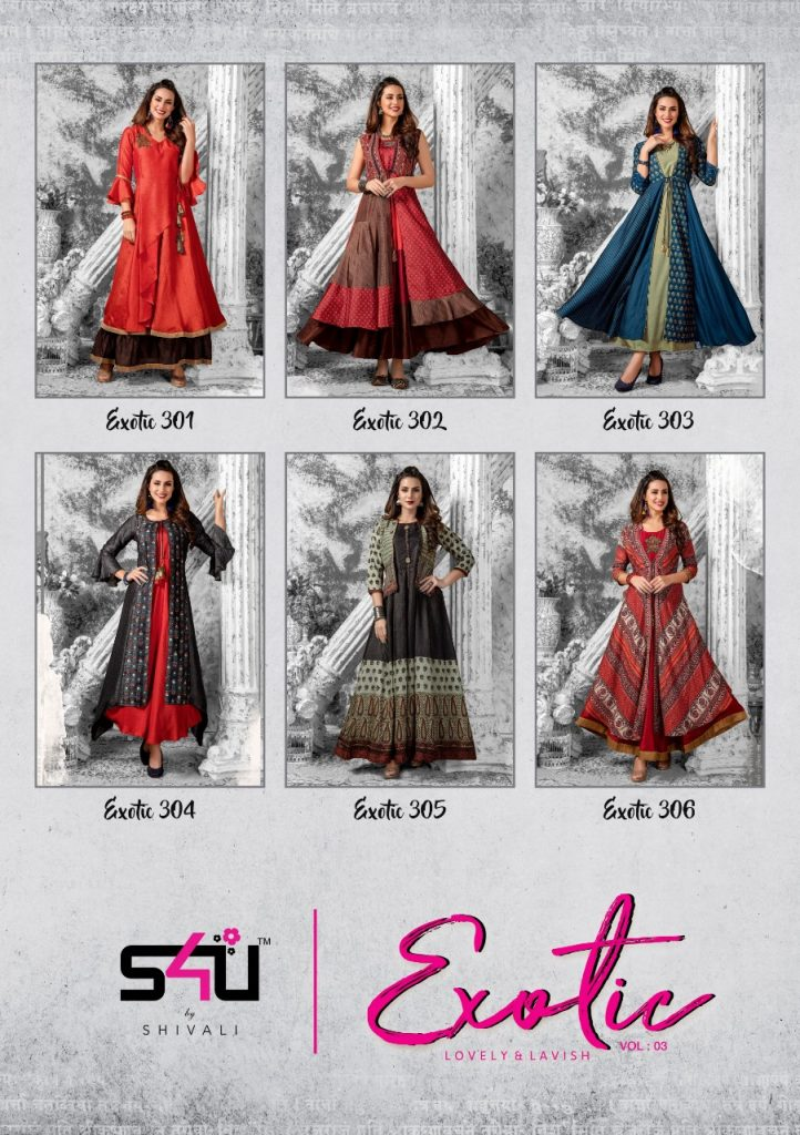 - IMG 20181227 WA0190 722x1024 - S4U Exotic vol 3 designer partywear fancy kurtis catalogue supplier Surat best rate  - IMG 20181227 WA0190 722x1024 - S4U Exotic vol 3 designer partywear fancy kurtis catalogue supplier Surat best rate