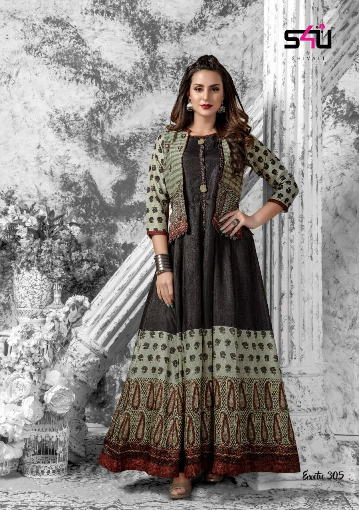 - IMG 20181227 WA0193 1 722x1024 - S4U Exotic vol 3 designer partywear fancy kurtis catalogue supplier Surat best rate  - IMG 20181227 WA0193 1 722x1024 - S4U Exotic vol 3 designer partywear fancy kurtis catalogue supplier Surat best rate