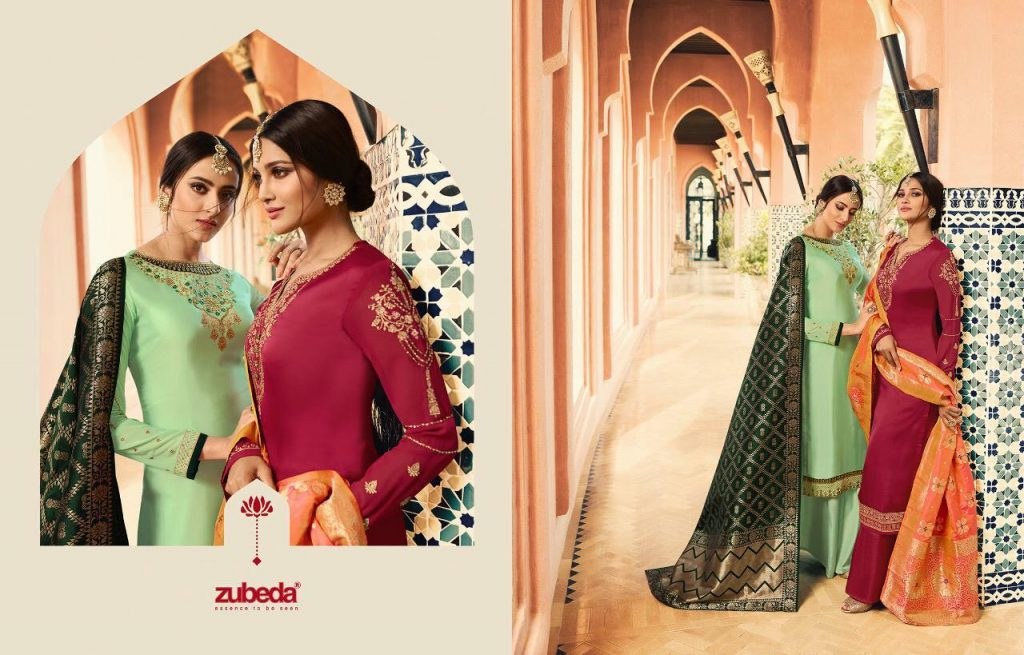 - IMG 20190104 WA0231 1024x655 - Zubeda nyra banarasi vol 2 heavy embroidered sharara style salwaar suit catalogue roshani dealer surat  - IMG 20190104 WA0231 1024x655 - Zubeda nyra banarasi vol 2 heavy embroidered sharara style salwaar suit catalogue roshani dealer surat