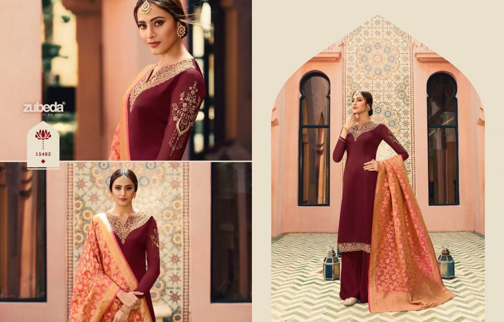 - IMG 20190104 WA0232 1024x655 - Zubeda nyra banarasi vol 2 heavy embroidered sharara style salwaar suit catalogue roshani dealer surat  - IMG 20190104 WA0232 1024x655 - Zubeda nyra banarasi vol 2 heavy embroidered sharara style salwaar suit catalogue roshani dealer surat