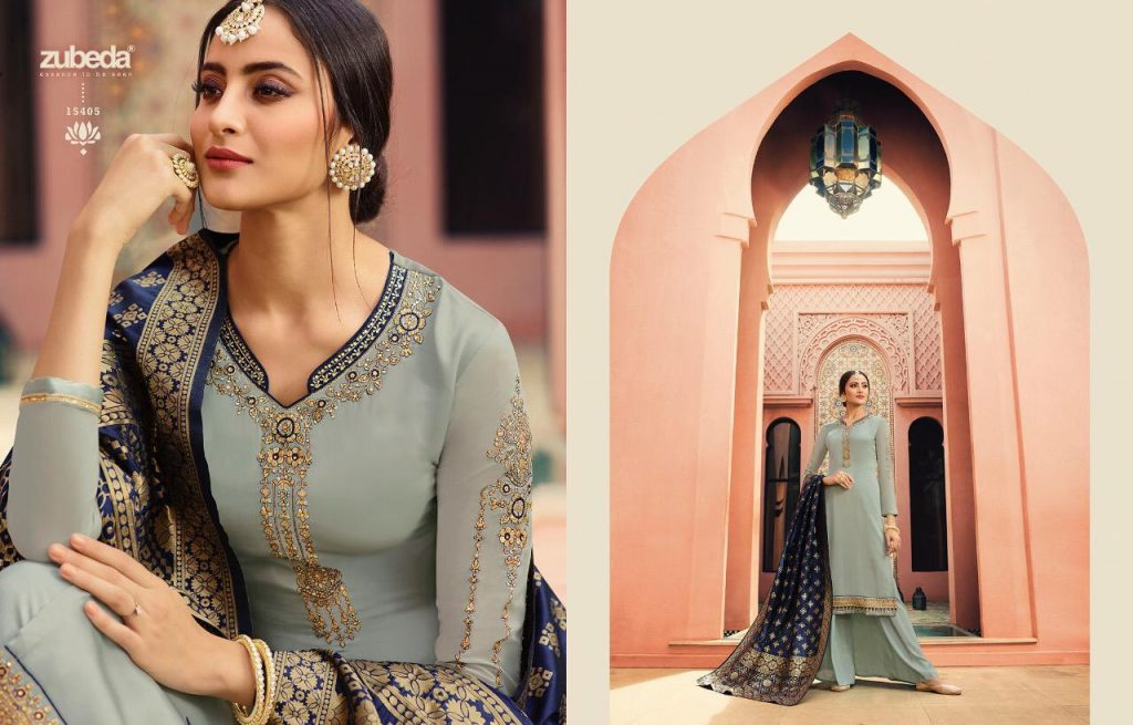 - IMG 20190104 WA0236 1024x655 - Zubeda nyra banarasi vol 2 heavy embroidered sharara style salwaar suit catalogue roshani dealer surat  - IMG 20190104 WA0236 1024x655 - Zubeda nyra banarasi vol 2 heavy embroidered sharara style salwaar suit catalogue roshani dealer surat