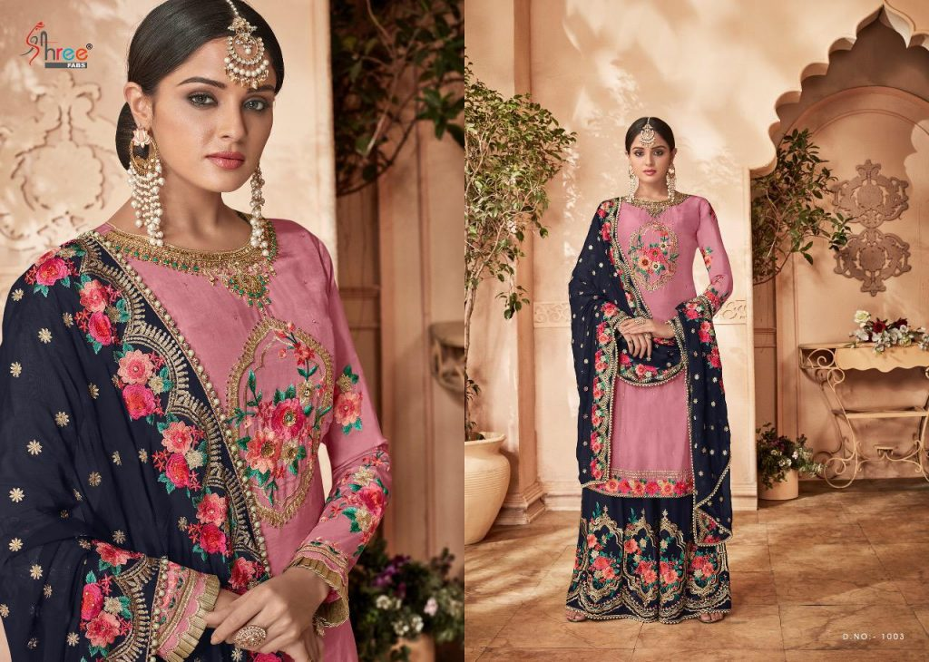 - IMG 20190121 WA0272 1024x730 - Shree fabs shehnai vol 17 bridal collection party wear sharara style salwaar suit catalogue from surat wholesaler best price  - IMG 20190121 WA0272 1024x730 - Shree fabs shehnai vol 17 bridal collection party wear sharara style salwaar suit catalogue from surat wholesaler best price