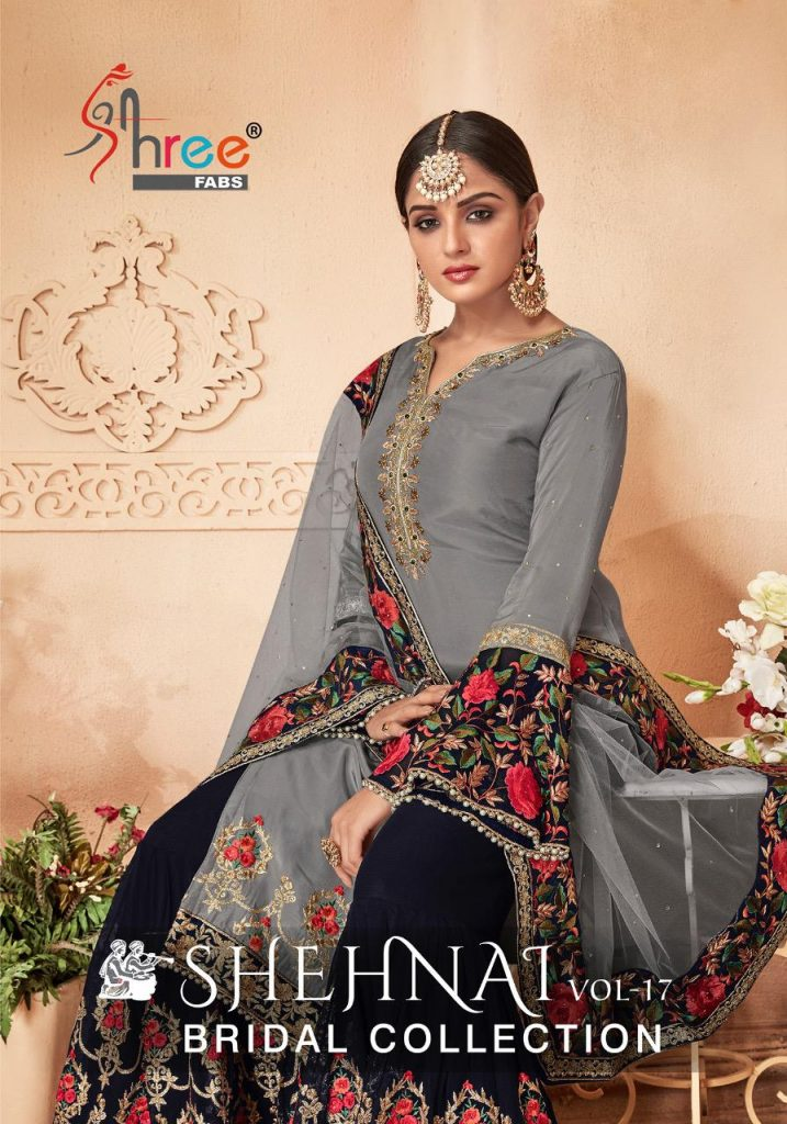 - IMG 20190121 WA0275 1 717x1024 - Shree fabs shehnai vol 17 bridal collection party wear sharara style salwaar suit catalogue from surat wholesaler best price  - IMG 20190121 WA0275 1 717x1024 - Shree fabs shehnai vol 17 bridal collection party wear sharara style salwaar suit catalogue from surat wholesaler best price