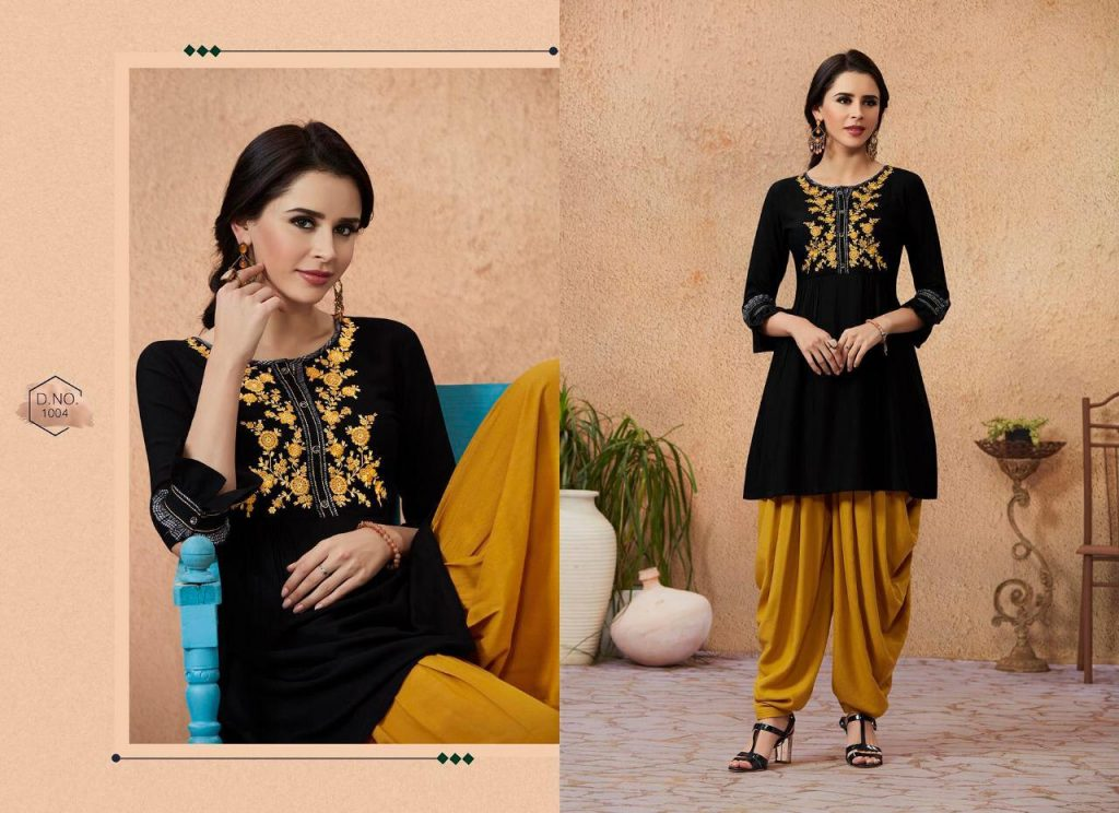Kajree fashio Mandonna vol 3 designer dhoti Patiala kurti set catalogue supplier Surat at best price - IMG 20190129 WA0107 1024x744 - Kajree fashio Mandonna vol 3 designer dhoti Patiala kurti set catalogue supplier Surat at best price Kajree fashio Mandonna vol 3 designer dhoti Patiala kurti set catalogue supplier Surat at best price - IMG 20190129 WA0107 1024x744 - Kajree fashio Mandonna vol 3 designer dhoti Patiala kurti set catalogue supplier Surat at best price