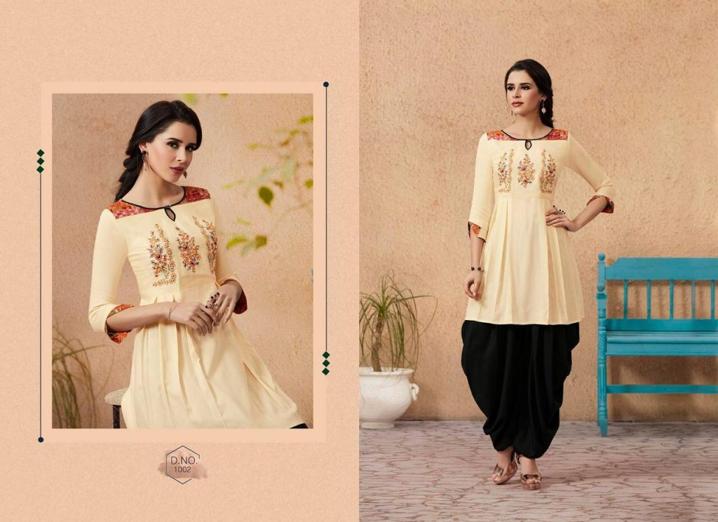 Kajree fashio Mandonna vol 3 designer dhoti Patiala kurti set catalogue supplier Surat at best price - IMG 20190129 WA0109 1024x744 - Kajree fashio Mandonna vol 3 designer dhoti Patiala kurti set catalogue supplier Surat at best price Kajree fashio Mandonna vol 3 designer dhoti Patiala kurti set catalogue supplier Surat at best price - IMG 20190129 WA0109 1024x744 - Kajree fashio Mandonna vol 3 designer dhoti Patiala kurti set catalogue supplier Surat at best price