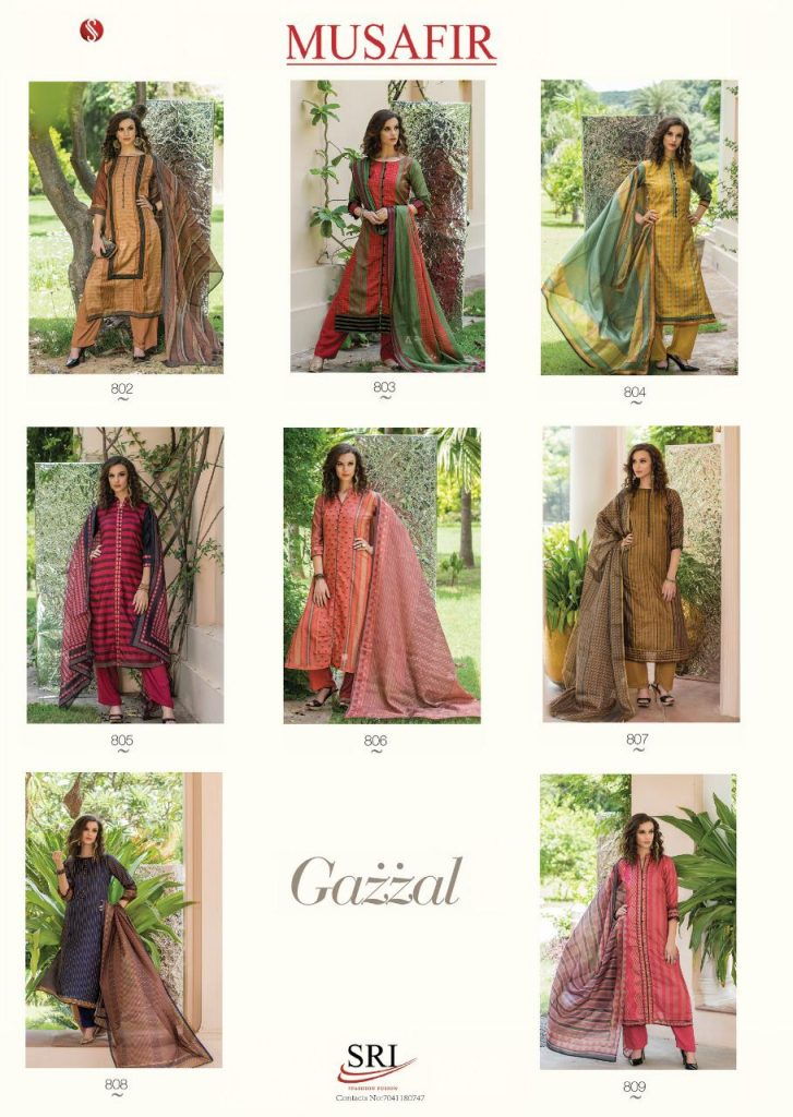 - IMG 20190215 WA0100 727x1024 - Sri musafir Gazzal Exclusive stylish cotton salwar kameez Catalogs wholesale Price Surat  - IMG 20190215 WA0100 727x1024 - Sri musafir Gazzal Exclusive stylish cotton salwar kameez Catalogs wholesale Price Surat