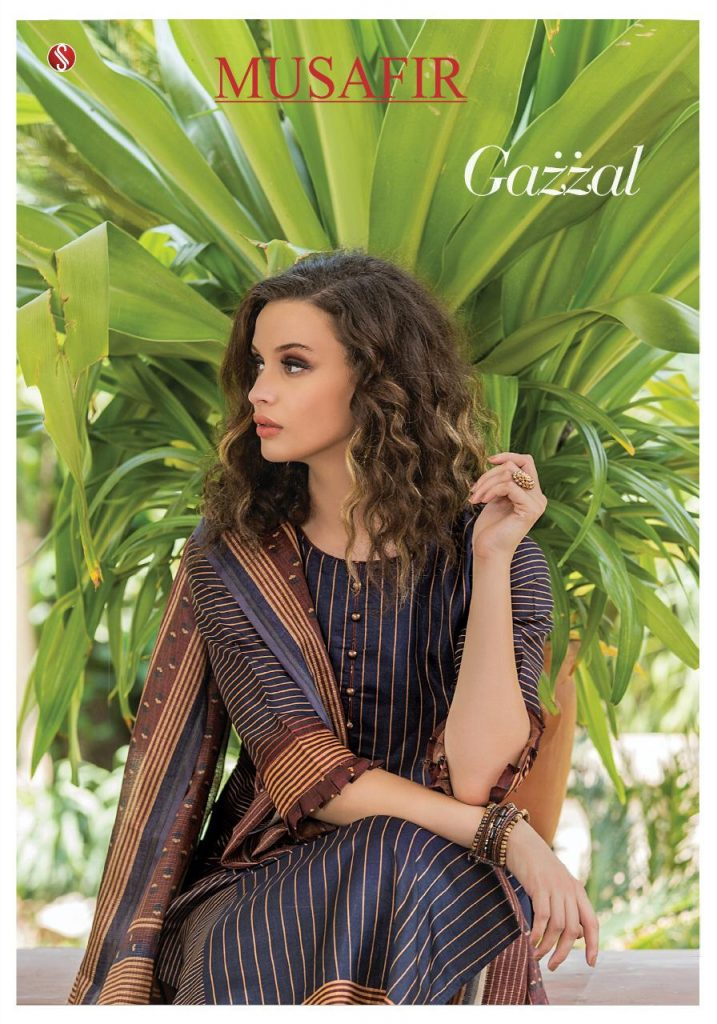 - IMG 20190215 WA0101 1 717x1024 - Sri musafir Gazzal Exclusive stylish cotton salwar kameez Catalogs wholesale Price Surat  - IMG 20190215 WA0101 1 717x1024 - Sri musafir Gazzal Exclusive stylish cotton salwar kameez Catalogs wholesale Price Surat