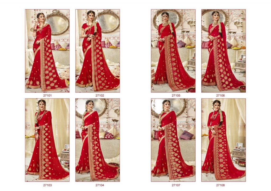 - IMG 20190228 WA0562 1024x723 - Triveni swarnpari Fancy designer red colour Saree Catalog wholesale price surat  - IMG 20190228 WA0562 1024x723 - Triveni swarnpari Fancy designer red colour Saree Catalog wholesale price surat