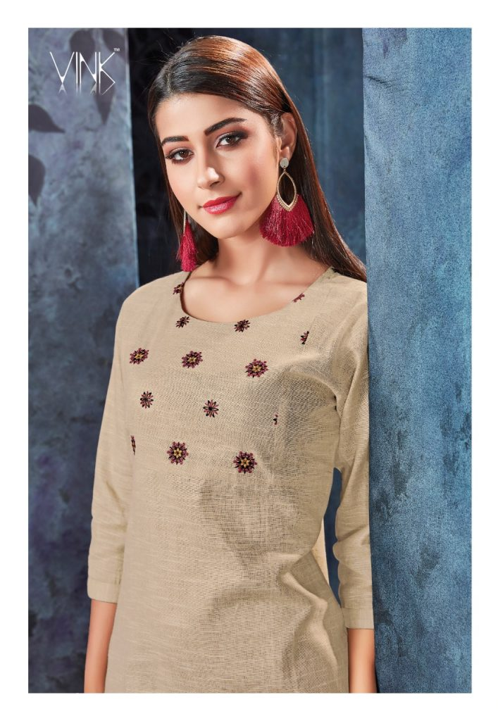 - IMG 20190306 WA0557 707x1024 - Vink by Vista Lifestyle shades vol 2 Designer kurtis with stole catalog wholesale price surat