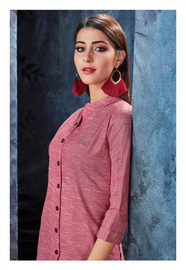 - IMG 20190306 WA0562 707x1024 - Vink by Vista Lifestyle shades vol 2 Designer kurtis with stole catalog wholesale price surat