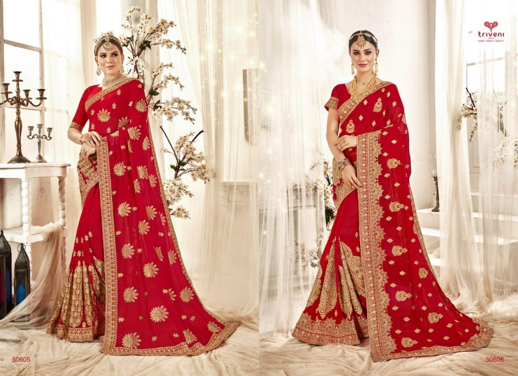 - IMG 20190320 WA0179 1024x744 - Triveni bandhan heavy work designer red colour saree catalog in wholesale price Surat best rate  - IMG 20190320 WA0179 1024x744 - Triveni bandhan heavy work designer red colour saree catalog in wholesale price Surat best rate